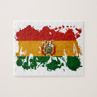 Bolivia Flag Jigsaw Puzzle