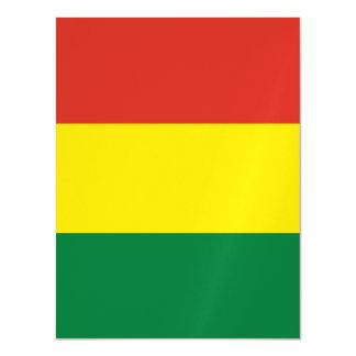 Bolivia Flag Magnetic Card