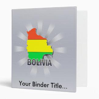 Bolivia Flag Map 2.0 Binder
