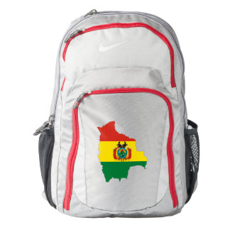 Bolivia Flag/Map Backpack
