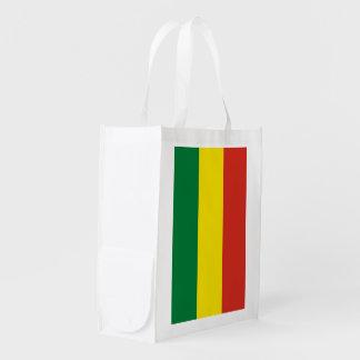 Bolivia Flag Market Totes