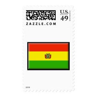 Bolivia Flag Postage Stamps