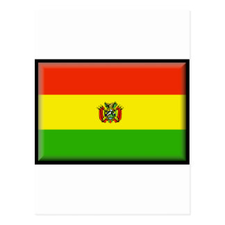 Bolivia Flag Postcards