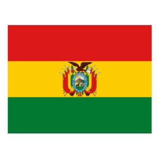 Bolivia Flag Post Cards