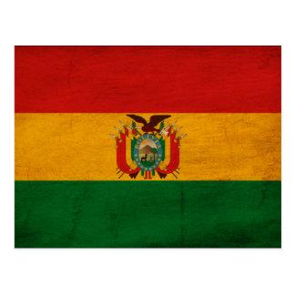 Bolivia Flag Post Card