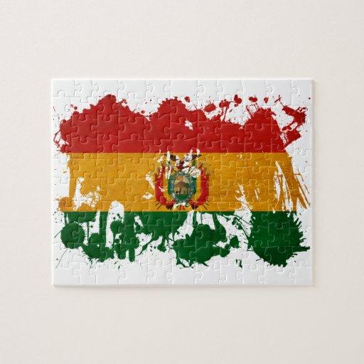 Bolivia Flag Puzzles
