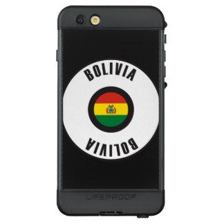 Bolivia Flag Simple LifeProof® NÜÜD® iPhone 6s Plus Case