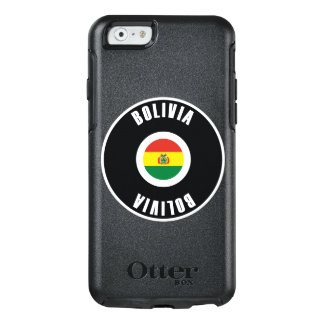 Bolivia Flag Simple OtterBox iPhone 6/6s Case