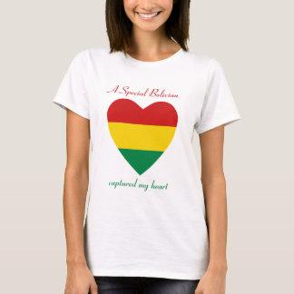Bolivia Flag Sweetheart T-Shirt