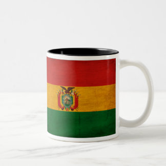 Bolivia Flag Two-Tone Coffee Mug