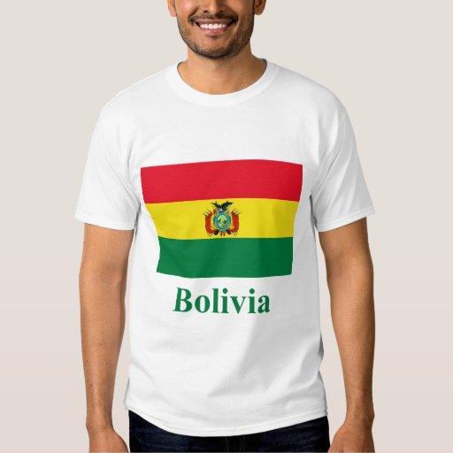 Bolivia Flag with Name Shirts