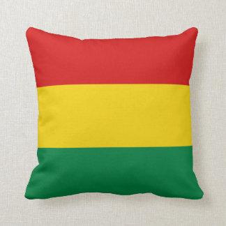 Bolivia Flag x Flag Pillow