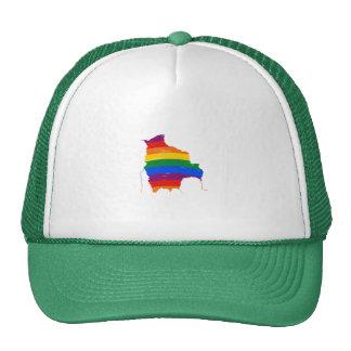 BOLIVIA GAY PRIDE MESH HATS