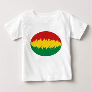 Bolivia Gnarly Flag T-Shirt