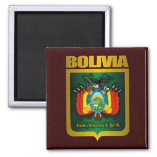 """Bolivia Gold"" 2 Inch Square Magnet"
