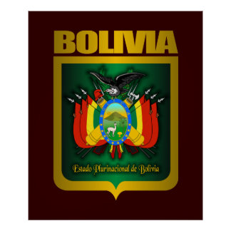 """Bolivia Gold"" Posters & Prints"