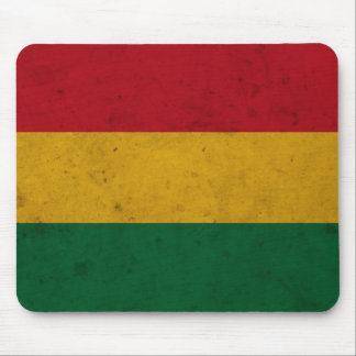 Bolivia Grunge Flag Mouse Pad