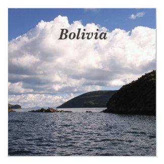 """Bolivia Invitación 5.25"""" X 5.25"""""""