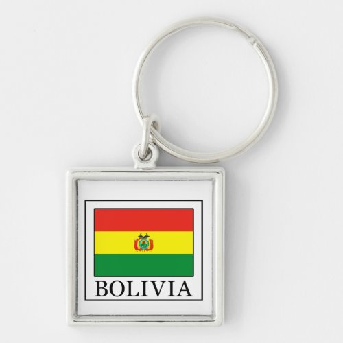 Bolivia keychain