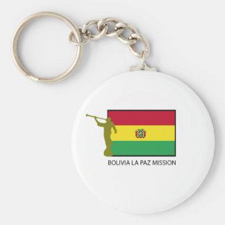 Bolivia La Paz Mission LDS CTR Keychain