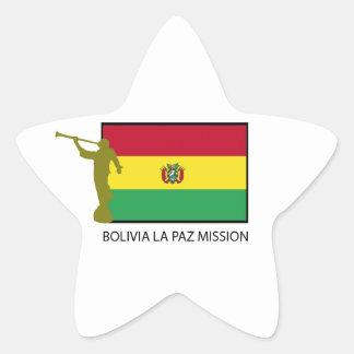 Bolivia La Paz Mission LDS CTR Star Sticker