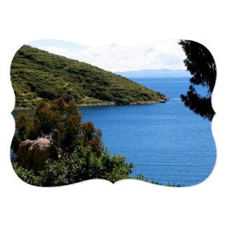 Bolivia Landscape 5x7 Paper Invitation Card