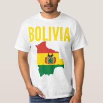 Bolivia Map Nation T-Shirt