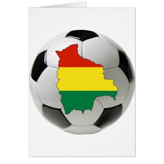 Bolivia national team card