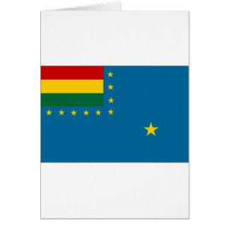 Bolivia Naval Ensign Flag Cards