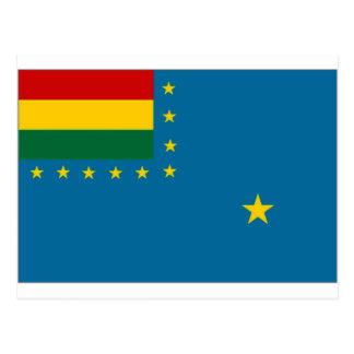 Bolivia Naval Ensign Flag Postcards