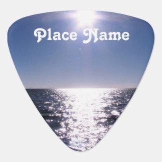 Bolivia Ocean Guitar Pick