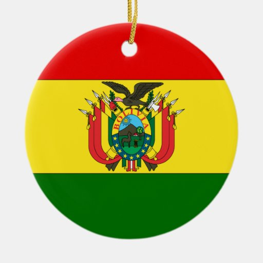 Bolivia Ornamento De Navidad