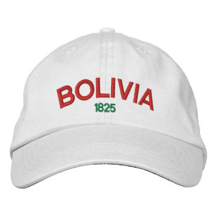 Bolivia Personalized Adjustable Hat
