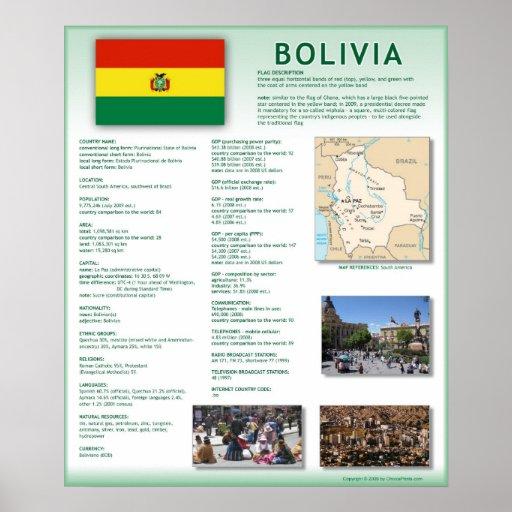 Bolivia Print