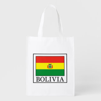 Bolivia Reusable Grocery Bag
