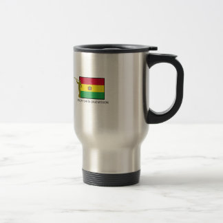 Bolivia Santa Cruz Mission LDS CTR Travel Mug