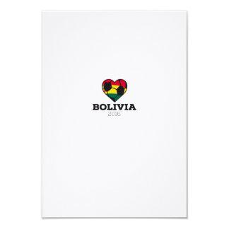 Bolivia Soccer Shirt 2016 Card