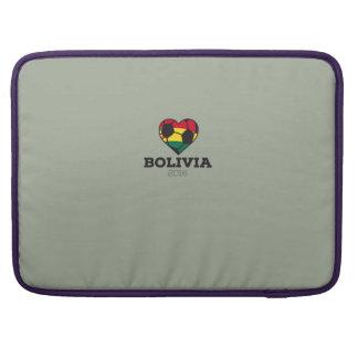 Bolivia Soccer Shirt 2016 MacBook Pro Sleeve