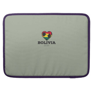 Bolivia Soccer Shirt 2016 Sleeves For MacBook Pro
