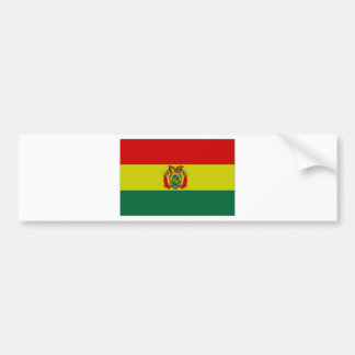 Bolivia State Flag Bumper Stickers