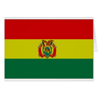 Bolivia State Flag Greeting Card