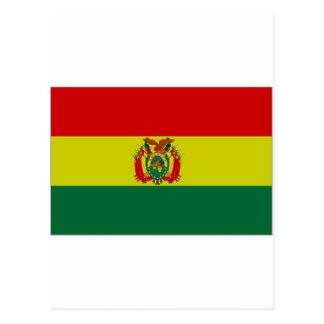 Bolivia State Flag Post Card