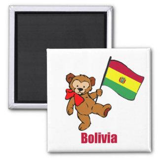 Bolivia Teddy Bear Magnets