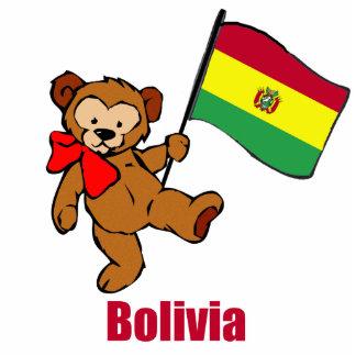 Bolivia Teddy Bear Statuette