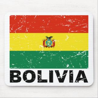 Bolivia Vintage Flag Mouse Pad