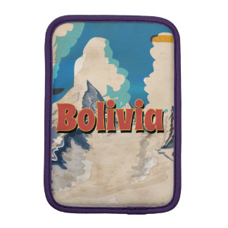 Bolivia Vintage Travel Poster iPad Mini Sleeve