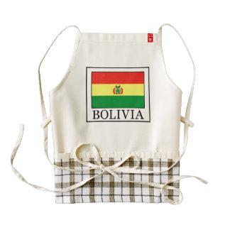 Bolivia Zazzle HEART Apron
