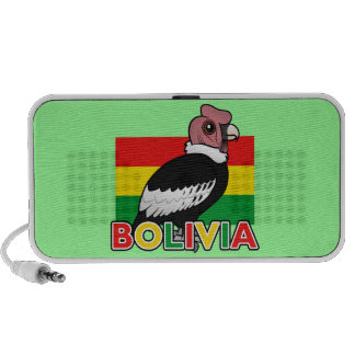 Bolivian Andean Condor Laptop Speakers