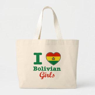 Bolivian Design Large Tote Bag