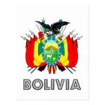 Bolivian Emblem Post Cards